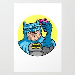 #Batface Art Print