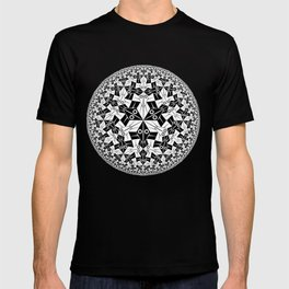 Escher Circle of Creatures T-shirt