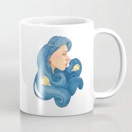 Ocean Hair Coffee Mug