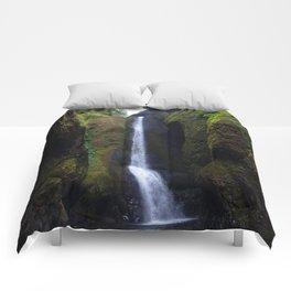 Lower Oneonta Falls, Oneonta Gorge, Oregon Comforters