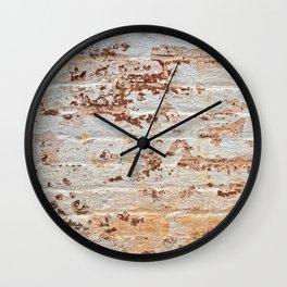 Rustic Lockhouse Wall Wall Clock