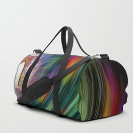 Our world is a magic - Time Tunnel 101 Duffle Bag