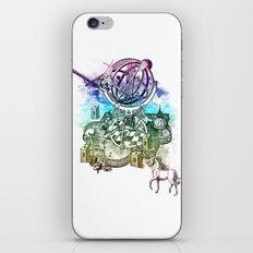 strange unicorn garden iPhone & iPod Skin