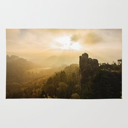 Elbe Sandstone Mountains Rug