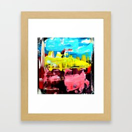 Color Abstract 4 Framed Art Print