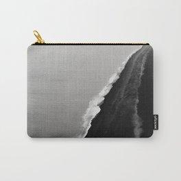 Black Sand Beach, Iceland Carry-All Pouch