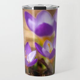 Concept flora : Wild crocus Travel Mug