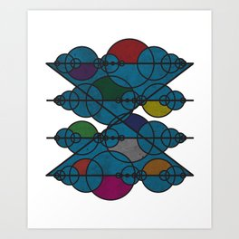 Geometric Exploration 1 Art Print