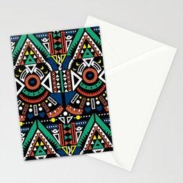 Geometric Power Stationery Cards