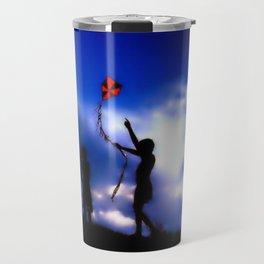 Blue freedom Travel Mug