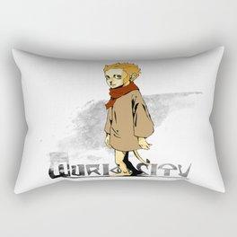 Q-uriosity Ape Rectangular Pillow