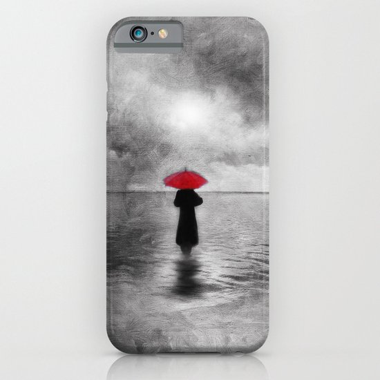 waiting in the sea II  -  by Viviana Gonzalez iPhone & iPod Case