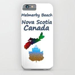 Melmerby Beach Nova Scotia Canada iPhone Case
