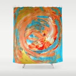 Abstract (Koi Fish) Shower Curtain