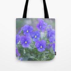 Pansy Love Tote Bag