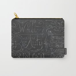 Julie's Chalkboard Carry-All Pouch