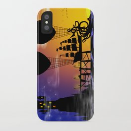 Here be monsters iPhone Case