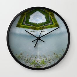 The Duck Pond Wall Clock