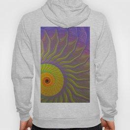 Fantasy Nautilus shell abstract Hoody