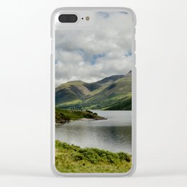 Wastwater Lake District Clear iPhone Case