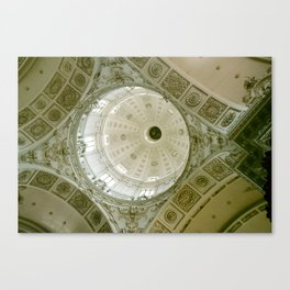Looking Up Theatine Church, Munich  Canvas Print