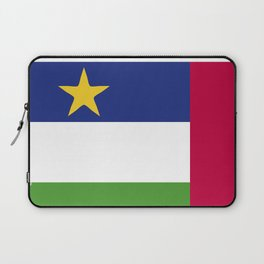 Central African Republic flag emblem Laptop Sleeve