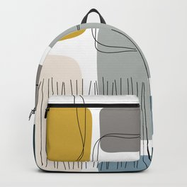 Abstract Shapes 01 Backpack