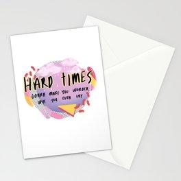 hardtimes Stationery Cards