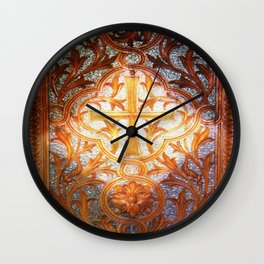 Intricate Lace Wall Clock