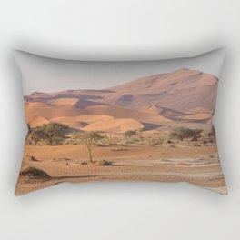 Desert textures - Sossusvlei desert, Namibia #Societ6 Rectangular Pillow