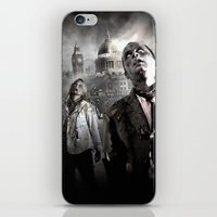 zombies iPhone & iPod Skins featuring Zombies by Joe Roberts