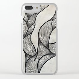 Smokey Clear iPhone Case