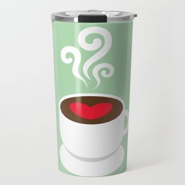 A Cup of Love Travel Mug