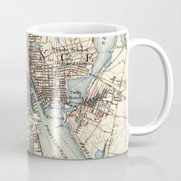 Vintage Map of Providence Rhode Island (1887) Coffee Mug