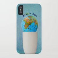world cup iPhone & iPod Cases featuring World cup by Anne Seltmann