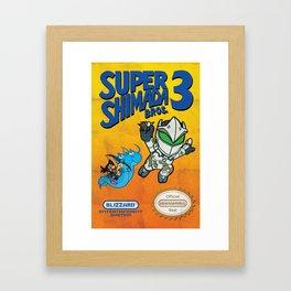 Super Shimada Bros 3 Framed Art Print