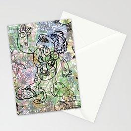 Anymanimals+Whatlifethrowsatyou    Nonrandom-art1 Stationery Cards