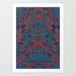 Xperiment 4 Art Print