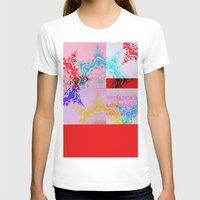 glitch T-shirts featuring Glitch  by Laina Catherine