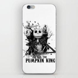 All Hail the Pumpkin King iPhone Skin