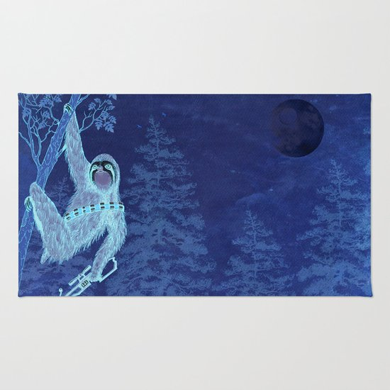 SlothWars Rug