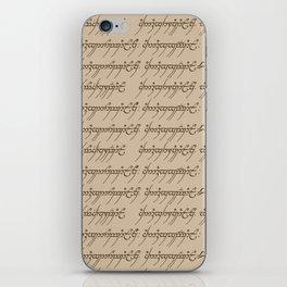 Elvish // Tan iPhone Skin