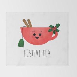 Festivi-tea Throw Blanket