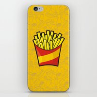 french fries iPhone & iPod Skins featuring French Fries by Sifis