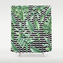 Tropical Geometry Shower Curtain