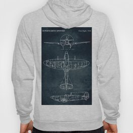 SUPERMARINE SPITFIRE - First flight 1936 Hoody