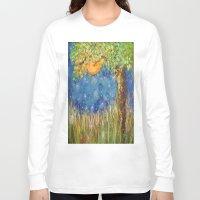 fireflies Long Sleeve T-shirts featuring Fireflies by Debydear