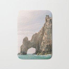 Land's End Arch in Cabo   Baja California Travel Photography   Mexico Fine Art Bath Mat