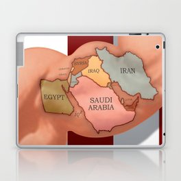 Flexing America's Muscles In The Middle East Will Make Things Worse Laptop & iPad Skin