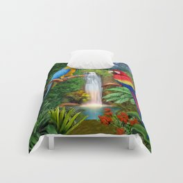 Macaw Tropical Parrots Comforters